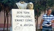 Bitmek Bilmiyor: Bu Sefer de Mersin'deki Atatürk Büstü Saldırıya Uğradı