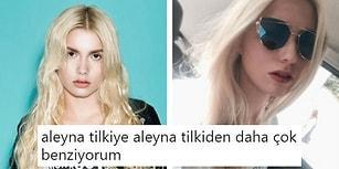 Son Dönemin Sansasyonel Ünlüsü Aleyna Tilki'ye Olan Benzerliğiyle İnterneti Sallayan Kız