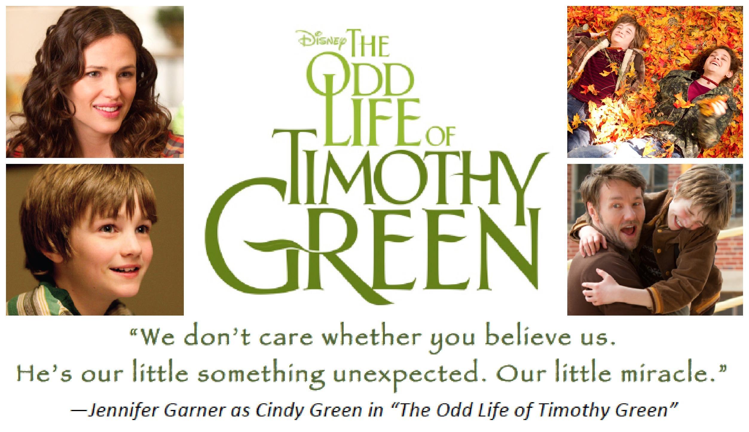 geoff zanelli the odd life of timothy green
