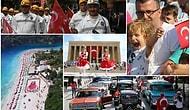 Yurdun Dört Bir Tarafından Fotoğraflar ile 95'inci Yıl Dönümünde 30 Ağustos Zafer Bayramımız