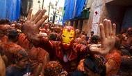 İspanya'nın Salça Tadındaki Efsanevi Festivali 'La Tomatina 2017'den Kıpkırmızı 23 Kare