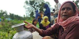 Ölümle Yaşam Arasında Zorlu Bir Yol: Fotoğraflarla Arakan'dan Kaçan Müslümanlar