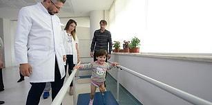 Babasının Yaptığı Düzenekle Yürümeyi Öğrenmişti: Özge Artık Dilediğince Hareket Edebiliyor