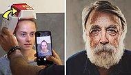 Bahaneye Son! Başarılı Portreler İçin Hamburger Kutusu ve iPhone Kullanan Fotoğrafçı