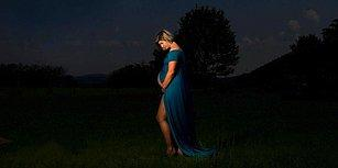 Hamilelik Fotoğraflarını Tutulma Sırasında Çektiren Kadından Dünyanın En Etkileyici Karesi