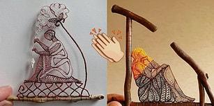 Dantel İşleme Sanatını Doğa İle İç İçe Bir Hale Getiren Macar Sanatçının 26 Muazzam Eseri