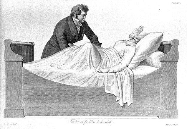 1. Histeri nöbeti geçiren kadınlarda vibratör kullanılması
