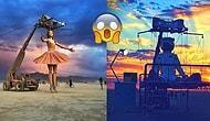 Evren Üzerindeki En Post-Apokaliptik Festival Olan Burning Man'den Sıra Dışı 40 Kare
