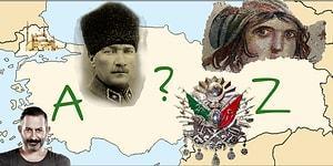 A'dan Z'ye Ben Türkiye'yi Çok İyi Biliyorum Testi