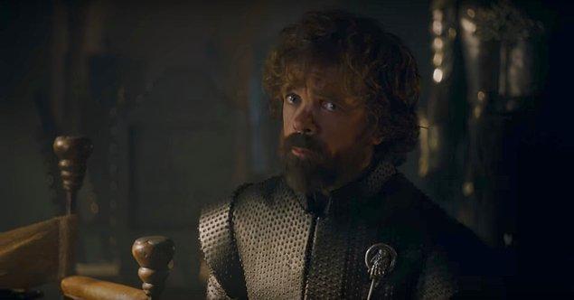 Çünkü Tyrion'un Cersei'nin çocuklarını fazlasıyla önemsediğini, hatta çok sevdiğini kendi ağzından duyuyoruz. Ölümlerinden dolayı biraz suçluluk bile duyuyor.
