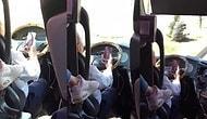 Metro Turizm Şoföründen 'Pes' Dedirten Hareket: Seyir Halinde Görüntülü Konuşma