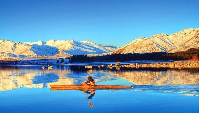 3. Yüzüklerin Efendisi, turistin ta kendisi olmak isteyenler için Yeni Zelanda.