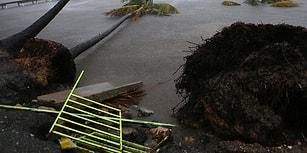 Florida Tetikte Bekliyor! Karayipler'de Büyük Hasara Sebep Olan Irma Kasırgası Yıkımının 22 Fotoğrafı
