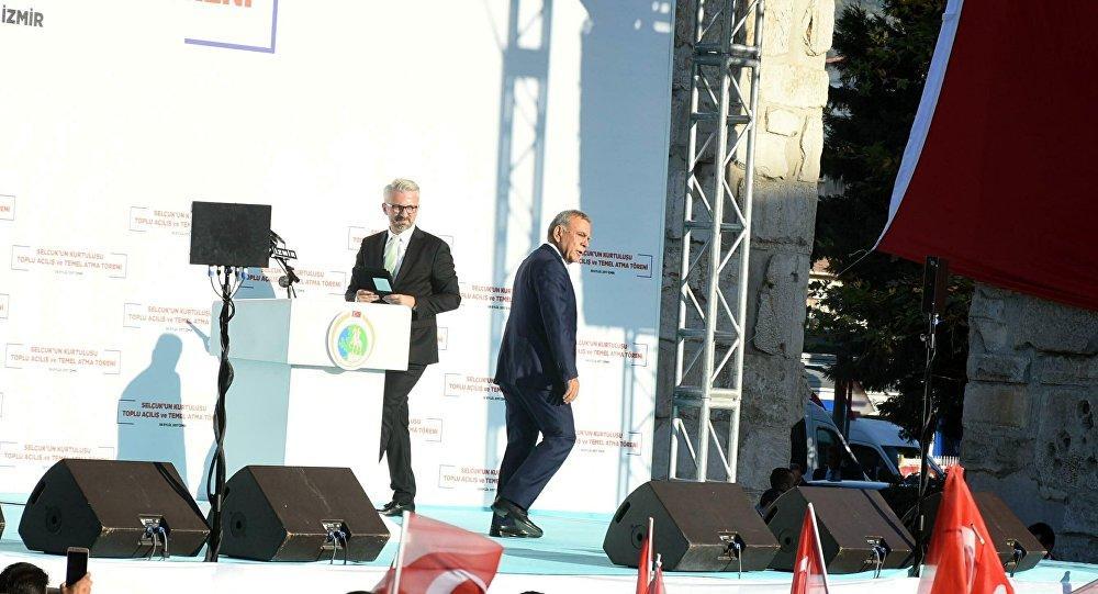 Açılışta Gerginlik: Aziz Kocaoğlu, Başbakan Yıldırımın Bulunduğu Töreni Terk Etti 23