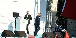 Açılışta Gerginlik: Aziz Kocaoğlu, Başbakan Yıldırım'ın Bulunduğu Töreni Terk Etti