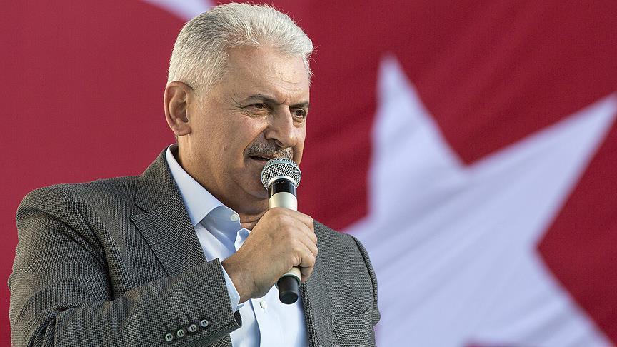 Açılışta Gerginlik: Aziz Kocaoğlu, Başbakan Yıldırımın Bulunduğu Töreni Terk Etti 26