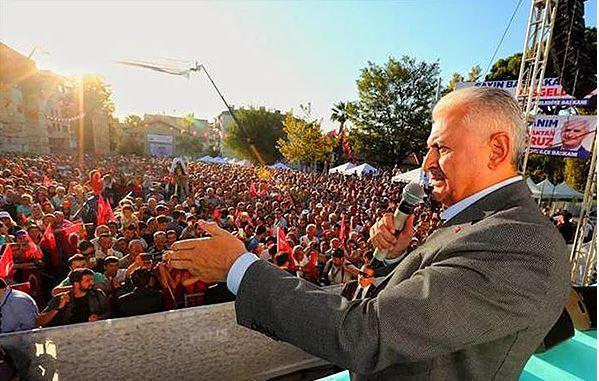 Açılışta Gerginlik: Aziz Kocaoğlu, Başbakan Yıldırımın Bulunduğu Töreni Terk Etti 17