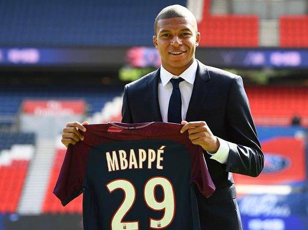 15. Kylian Mbappe ➡️ PSG