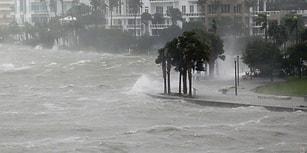 'Irma' Florida'yı Yıkıp Geçiyor: Sosyal Medyadan Videolarla Kasırganın Korkutucu Yüzü