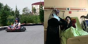Tedbirsizliğin Böylesi: Go-Kart Aracında Şalı Lastiğe Dolanan Kadının Boğazı Delindi