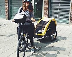 3 Yaşındaki Kızıyla Birlikte Kuzey Avrupa'yı Bisikletle Gezdiler!