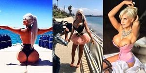 Kaburgalarını Aldırınca Kum Saati Gibi Gözüken Sunucu: Sophia Vegas