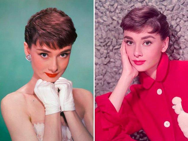 1. Audrey Hepburn, meşhur ceylan bakışlarını çengelli iğneyle tek tek ayırdığı kirpiklerine borçluydu. 🦌 👀