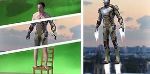 14 Efsane Videoyla Hollywood'un Ağzı Açık Bırakan Görsel Efektlerinin Öncesi ve Sonrası