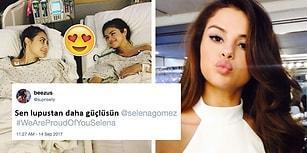 Böbrek Nakli Ameliyatı Geçiren Güzel Şarkıcı Selena Gomez'e Hayranlarından Kaya Gibi Destek!