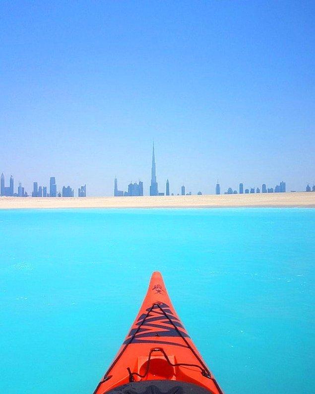 28. Eğer kayak yapmak istiyorsanız elbetteki ilk durağınız Dubai olmalı.
