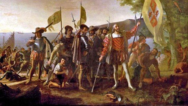6. Kristof Kolomb, şu anki Amerika Birleşik Devletleri'nin anakarasına ulaşmamıştı.