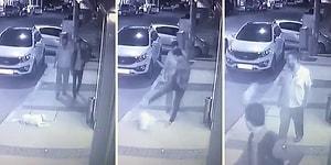 Suç Makinesi Çıktı! İzmir'de Yerde Yatan Köpeğe Tekme Atan Vicdansız Yakalandı