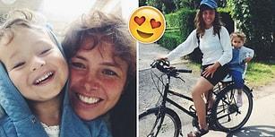 3 Yaşındaki Kızıyla Avrupa'yı Bisikletle Gezen ve Kalıpları Yıkan Muhteşem Anne: İrem Çağıl