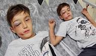Bu Nasıl Bir Vicdansızlık? Metro Durağında Kendisine Yanlışlıkla Çarpan 12 Yaşındaki Çocuğu Öldüresiye Dövdü