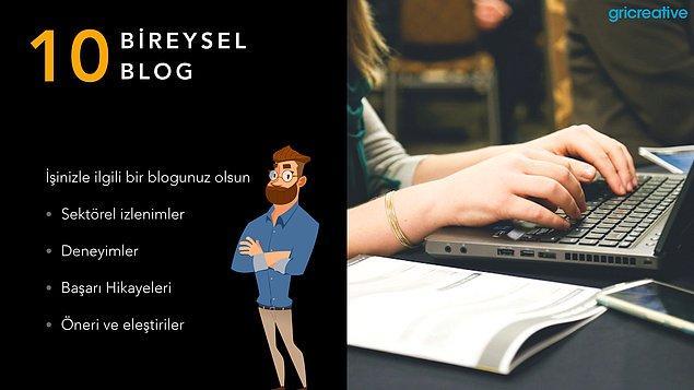 Bireysel Blog