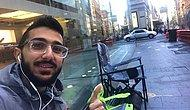 iPhone Çılgınlığı Başlamak Üzere! Apple Mağazasının Önüne 10 Gün Önceden Kamp Kuran Genç