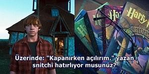 Potterheadler Bu İçerikte Toplanıyor! Harry Potter Kitaplarıyla İlgili Az Bilinen 17 Gerçek
