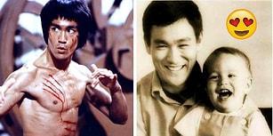 Onu Hiç Böyle Görmediniz! Savunma Sanatı Ustası Ünlü Oyuncu Bruce Lee'nin 31 Aile Fotoğrafı 😍