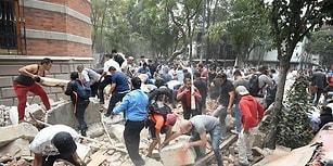 Meksika 7.1 Büyüklüğünde Depremle Sarsıldı: Çok Sayıda Can Kaybı Var