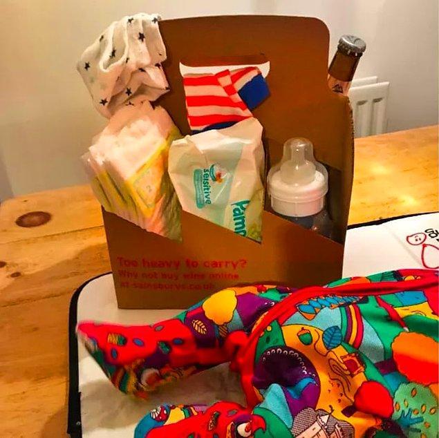 8. Kullanılmayan kutularla bebeklerin eşyalarını taşımak artık çok kolay.