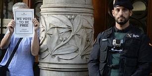 İspanya'da Neler Oluyor? Bağımsızlık Referandumu Öncesi Polis, Katalan Hükümetine Baskın Yaptı