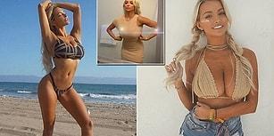 Devasa Memeleri Yüzünden Dayanılmaz Sırt Ağrıları Çeken ve Aşağılanan Playboy Mankeni