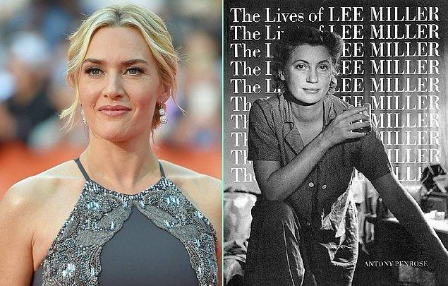 14. Kate Winslet bir kez daha Oscar adaylığına yaklaşabilir, sıradaki filminde Nazi kamplarını fotoğraflayan gazeteci Lee Miller'ı canlandıracak.