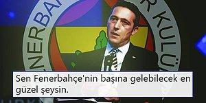 Sarı Lacivertli Taraftarlar, Ali Koç'un Fenerbahçe Başkanı Olmasını Canıgönülden İstiyor