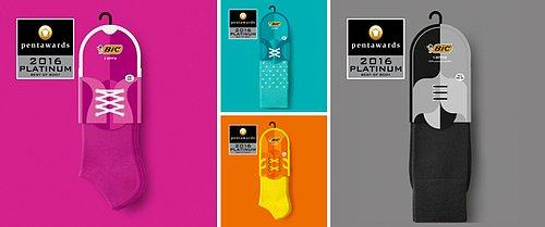 Bic Socks by Mousegraphics
