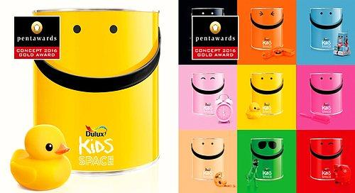 Dulux – Kids Space by Springetts Brand Design Consultants