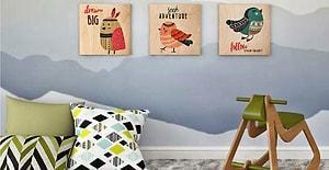 Evdeki Ufaklığın Rüyalarına Renk, Hayallerine Sevgi Katacak 12 Sevimli Duvar Dekoru