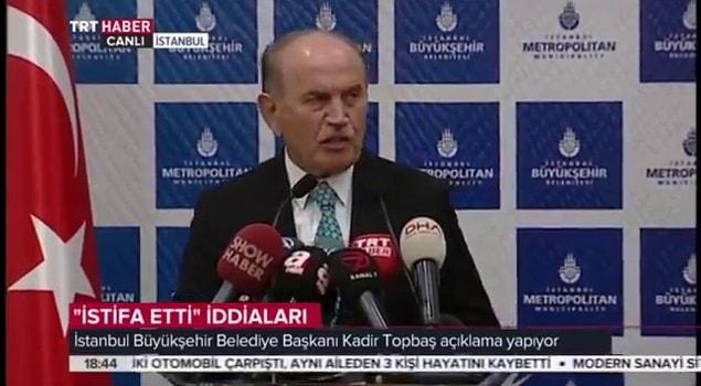 İstanbul Büyükşehir Belediye Başkanı Kadir Topbaş İstifa Etti: Adam Yerine Konulmamak Affedilemez 69