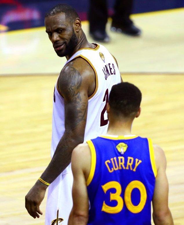 Başkan Trump'ın bu ifadelerine yanıt, Stephen Curry'nin ezeli rakibi LeBron James'ten geldi.