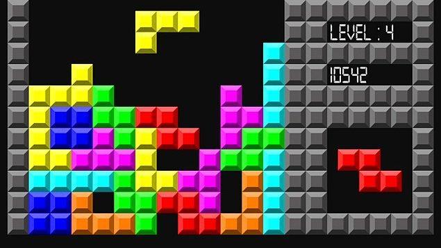 9. Tetriste bir türlü uzun çubuğun gelmemesi.